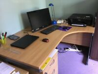 Office desk, good condition.
