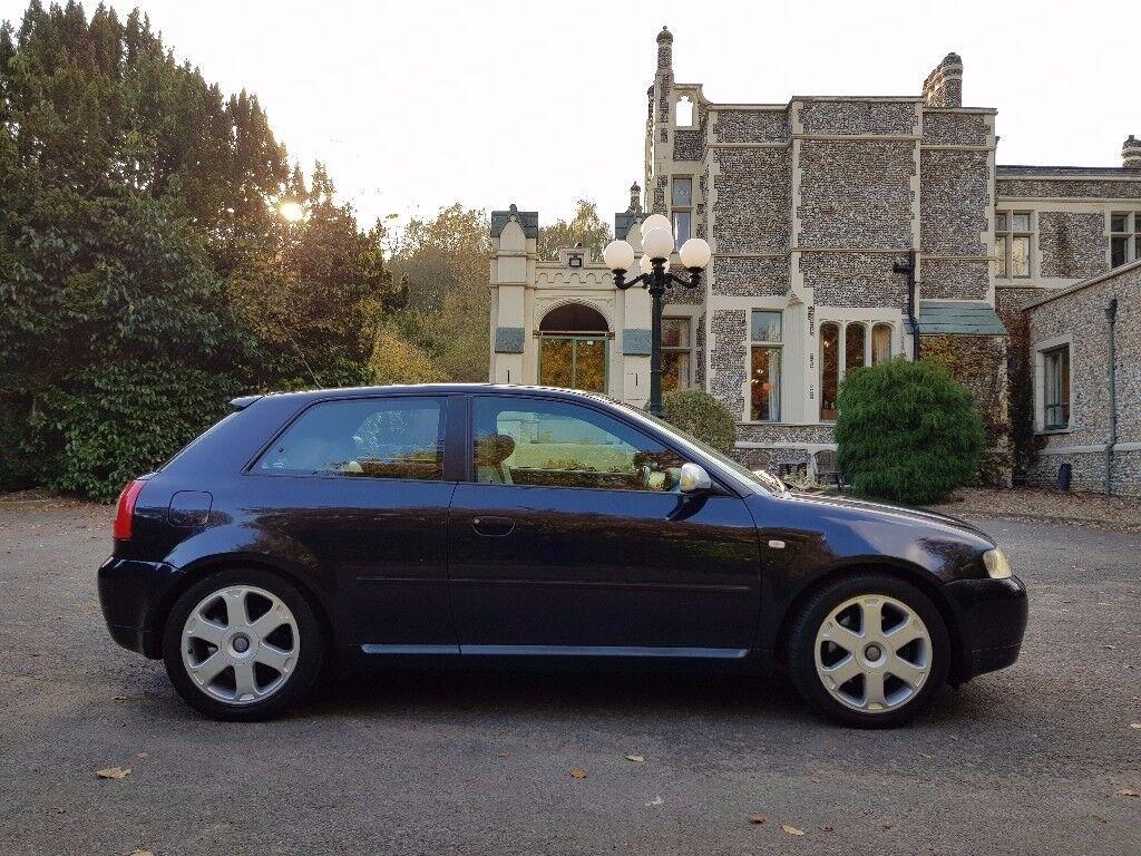 AUDI S3 1.8 T QUATTRO BAM 225 BHP!!!! 2002/52 £3250 ONLY 101K LOVELY CLASSIC £3250