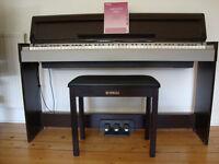 Yamaha piano with stool and manual - Arius YDP-S31