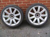 """18"""" 9 spoke multifit wheels"""