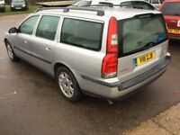 Automatic 2001 Volvo V70 -9 mths mot,ac,mint,cd,leather,alloy,remote keys,excellent runner,reliable