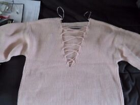 BUNDLE OF WOMAN JUMPERS SIZE S/M 4 items
