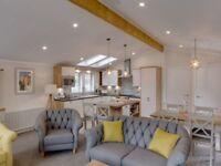 BRAND NEW, Beautifully Presented Luxury Lodge, Heated Swimming Pool, Panoramic Views, On The Beach