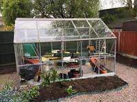 10 x 6ft self regulating green house