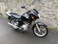 125cc Road Bike Leaner Legal Low Millage 1 Owner