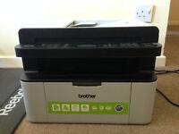 Brother monochrome laser printer scanner MFC-1810