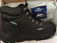Himalayan 5220 S3 SRC Black HyGrip Steel Toe Cap Waterproof Work Safety Boots Size 11UK