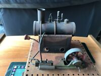 Momod model steam engine with whistle