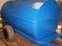 Diesel bowser, bunded site bowser