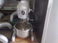 DOUGH MIXER COMMERCIAL RESTAURANT PATISSERIE BAKERY CAFE KITCHEN HOBART CATERING 20 TL BREAD NAAN