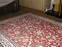 Large rug and matching runner