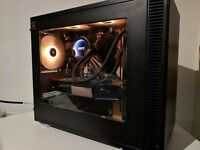 Gaming PC. Mini-ITX build with I7 4770k and GTX 770