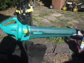 Gardenline Leaf Blower/Vacuum. (Can see working)