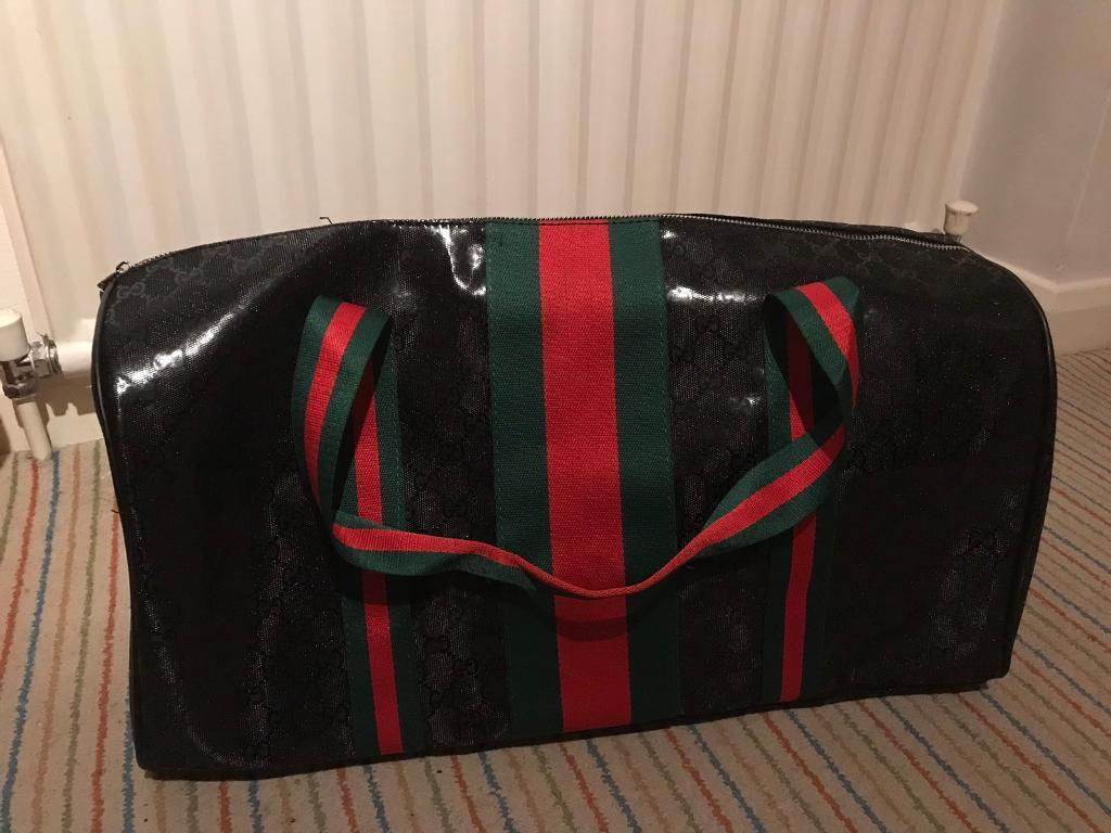 0a613771e511 Black Gucci Holdall bag. Hemel Hempstead ...