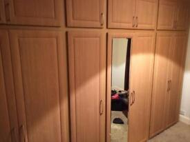 Sharps fitted wardrobe