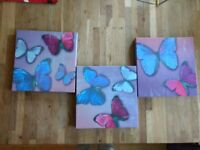 Butterfly wall picture