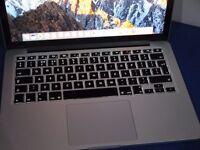 APPLE MACBOOK PRO RETINA INTEL CORE I5 2.4GHZ 4GB RAM WIFI WEBCAM OS X