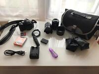 Olympus E600 DSLR Camera 12.3MP With Extras