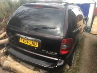 Chrysler Grand Voyager XS Limited - Spares or Repair