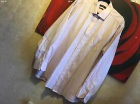 Taylor men's shirt long sleeves Sz: 17.5 used good condition £2