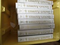 collection of 8 Doctors Answer books ideal for information/ library