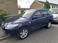 Hyundai Santa Fe 2.2 CDX CRDT, 7 seats, 4x4, heated seats, leather, automatic, privacy glass