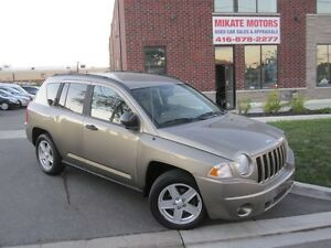 Super Clean 2007 Jeep Compass Sport, Fully Certified & E-Tested