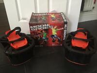 Moon shoes anti gravity toy shoes for children box and receipt £5 RRP £30