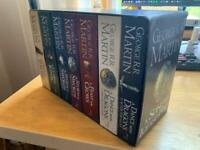 George RR Martin - A Song of Ice and Fire / A Game of Thrones 7 Book Set