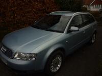 Audi A4 tdi estate diesel. 52 plate
