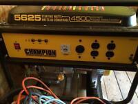 4500w Champion Generator