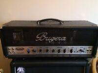 Bugera 6260 Infinium 120 Watt Valve GuitarAmp head + Pedal.