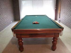 "Premium Handcrafted B&K Billiard Table - 9'x4'6"" Endeavour Hills Casey Area Preview"