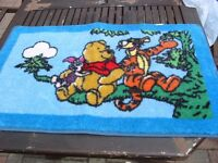 WINNE THE POOH AND TIGER CARPET