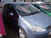 Ford Focus c-max zetec tdi,2 previous owners,full MOT,very clean tidy car,runs and drives as new,