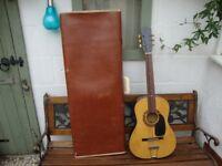 Vintage 3/4,Acoustic Guitar,In Vintage Hard Case.