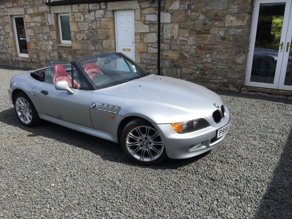 Bmw Z3 1 9 Convertible Silver In Ayr South Ayrshire