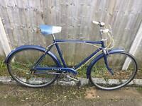 Vintage Gents 1968 BSA Town Bike. Good condition