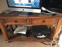 Sofa table and tv table for sale