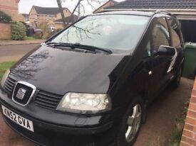 Seat Alhambra 1.9 tdi (115) breaking for parts