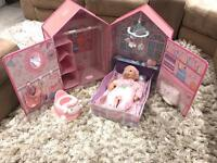 Baby Annabell Dolls house...BRAND NEW NEVER USED