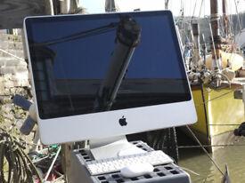 Apple iMac 24 Inch, 2.66GHz, 4gb RAM, 640GB HDD, Keyboard & Mouse