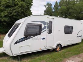 2009 Stirling Eccles Ruby 90 Touring caravans