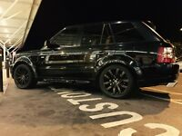 Range Rover Sport supercharged 4.2 v8 overfinch replica full service history