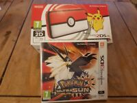 Nintendo 2ds XL BRAND NEW plus Pokemon ultra sun (sealed)