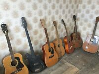 Job lot of 7 Guitars