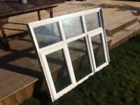 uPVC and aluminium double glazed window £100.00 (ono) COLLECTION ONLY / NO DELIVERY
