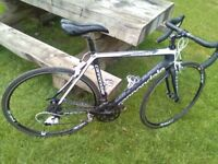 Cannondale Supersix Fully Carbon Roadbike