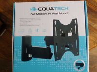 Equatech full motion TV wall mount. Unwanted. Put it up, took it down! A change of minds!!