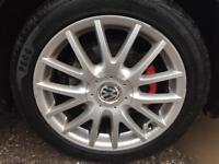 "17"" vw golf MK5 Gt tdi sport classix alloy wheels & tyres 225 45 17 6mm tread"